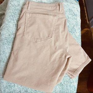 Ann Taylor soft corduroy pants